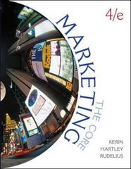 Marketing: The Core 4th edition 9780078112065 0078112060