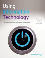 Using Information Technology 9e Introductory Edition 9th Edition 9780077331085 0077331087