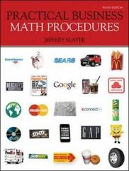 Practical Business Math Procedures 10th edition 9780073377537 0073377538
