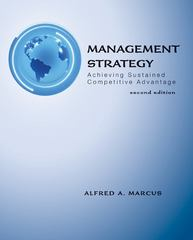Management Strategy: Achieving Sustained Competitive Advantage 2nd edition 9780078137129 0078137128