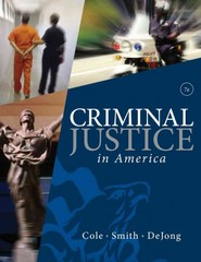 Criminal Justice in America 6th edition 9780495809821 0495809829