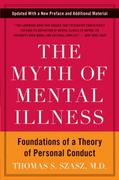 The Myth of Mental Illness 50th Edition 9780061771224 0061771228