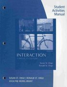 Workbook with Lab Manual for St. Onge/St. Onge's Interaction 8th Edition 9781428263192 1428263195