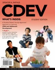 CDEV (with Review Cards and CourseMate Printed Access Card) 1st Edition 9780495905530 0495905534