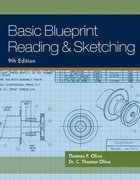 Basic Blueprint Reading and Sketching 9th Edition 9781133010838 1133010830