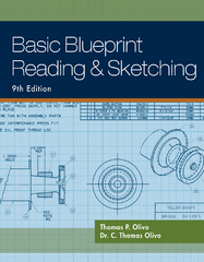 Basic Blueprint Reading and Sketching 9th edition 9781435483781 1435483782