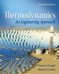 Thermodynamics 7th Edition 9780077366742 0077366743