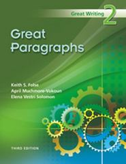 Great Paragraphs 3rd Edition 9781424051007 1424051002