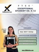FTCE Exceptional Student K-12 1st Edition 9781607870074 160787007X