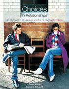 Choices in Relationships 10th edition 9780495809234 0495809233