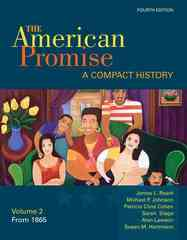 The American Promise 4th edition 9780312534080 0312534086
