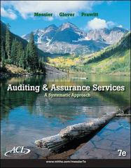 Auditing and Assurance Services 7th edition 9780073527086 0073527084