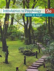 Introduction to Psychology 9th edition 9780495810919 0495810916