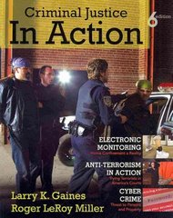 Criminal Justice in Action 6th edition 9780495811022 0495811025