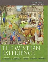 The Western Experience, Volume 1 10th Edition 9780077291174 0077291174
