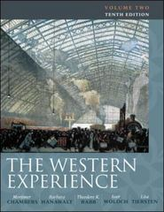 The Western Experience 10th Edition 9780077291167 0077291166