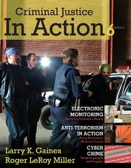 Criminal Justice in Action 6th edition 9780495812456 0495812455