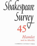 Hamlet and Its Afterlife 0 9780521523844 0521523842