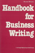 Handbook for Business Writing 2nd edition 9780844232782 0844232785