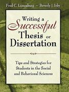 Writing a Successful Thesis or Dissertation 1st Edition 9781412942256 141294225X