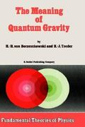 The Meaning of Quantum Gravity 1st edition 9789027725189 9027725187