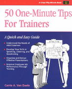 Crisp: 50 One-Minute Tips for Trainers 1st edition 9781560523529 1560523522