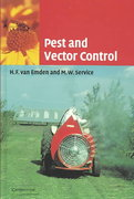 Pest and Vector Control 1st Edition 9780521010832 0521010837