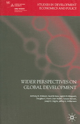 Wider Perspectives on Global Development 0 9781403996312 1403996318
