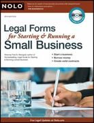 Legal Forms for Starting and Running a Small Business 6th edition 9781413310986 1413310982