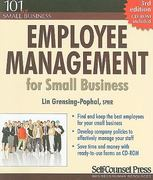 Employee Management for Small Business 3rd edition 9781551808635 1551808633