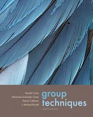 Group Techniques (with InfoTrac) 4th Edition 9780534612696 0534612695