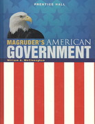 Magruder's American Government 2009 Student Edition 1st Edition 9780133656312 0133656314