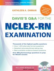 Davis's Q&A for the NCLEX-RN® Examination 1st Edition 9780803621879 0803621876