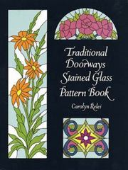 Traditional Doorways Stained Glass Pattern Book 0 9780486296920 048629692X