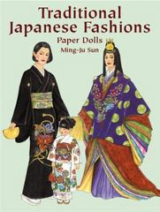 Traditional Japanese Fashions Paper Dolls 0 9780486426549 0486426548