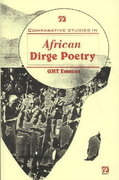 Comparative Studies in African Dirge Poetry 0 9789783603417 9783603418