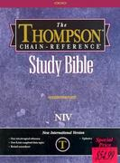 Thompson Chain Reference Bible-NIV 2nd edition 9780887073311 088707331X