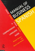 Manual of Business Spanish 1st edition 9780415129039 0415129036