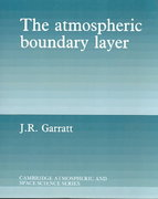 The Atmospheric Boundary Layer 1st Edition 9780521467452 0521467454