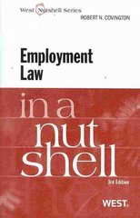 Employment Law in a Nutshell, 3d 3rd edition 9780314195401 0314195408