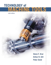 Technology of Machine Tools 6th edition 9780077232221 0077232224