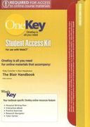 OneKey WebCT, Student Access Kit, The Blair Handbook 1st edition 9780131942479 0131942476