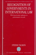 Recognition of Governments in International Law 0 9780198265733 0198265735