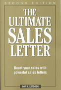 The Ultimate Sales Letter 2nd edition 9781580622578 1580622577