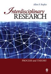 Interdisciplinary Research 1st Edition 9781412959155 1412959152