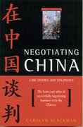Negotiating China 0 9781864480702 186448070X
