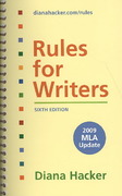 Rules for Writers with 2009 Update & Research Pack 6th edition 9780312606060 0312606060
