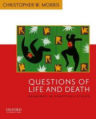 Questions of Life and Death 1st Edition 9780195156980 0195156986