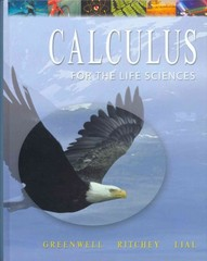 Calculus with Applications for the Life Sciences with Student Solutions Manual 1st edition 9780321244642 0321244648