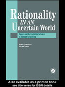 Rationality In An Uncertain World 0 9781135471750 1135471754